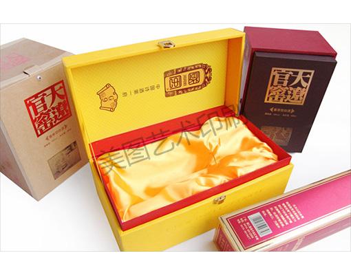 沈阳酒类礼盒印刷